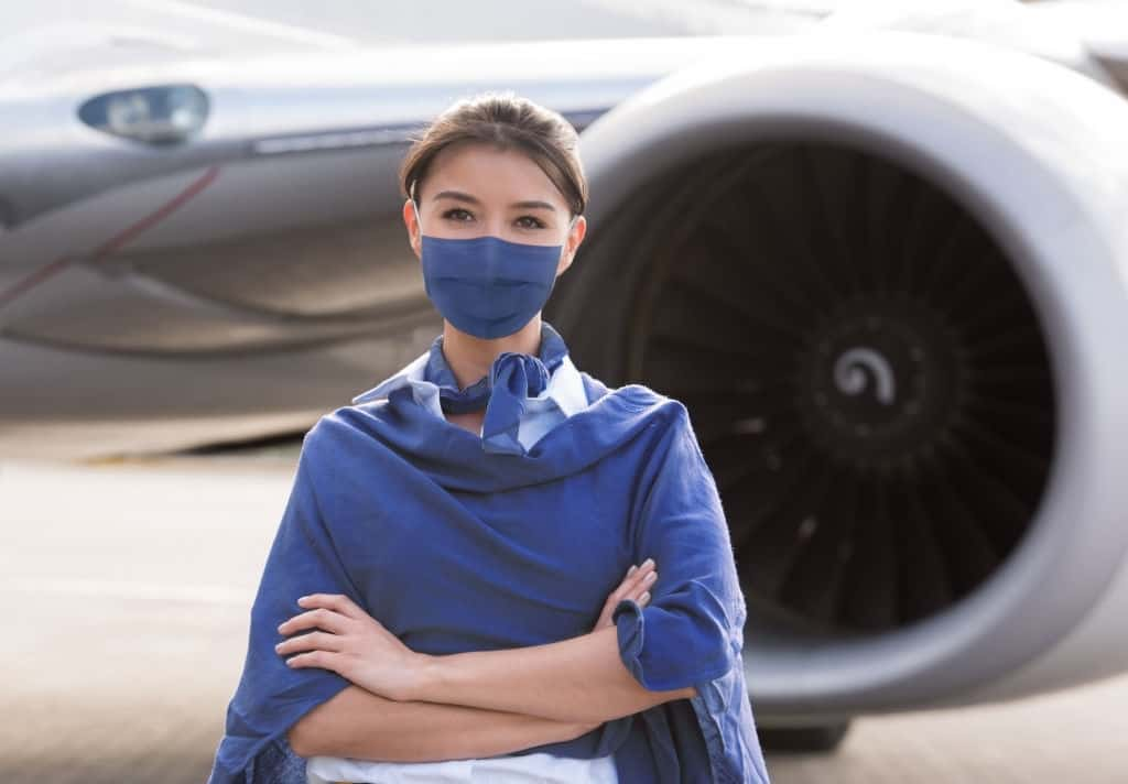 Firefighters, Flight attendants Line Up For Covid 19 Vaccine