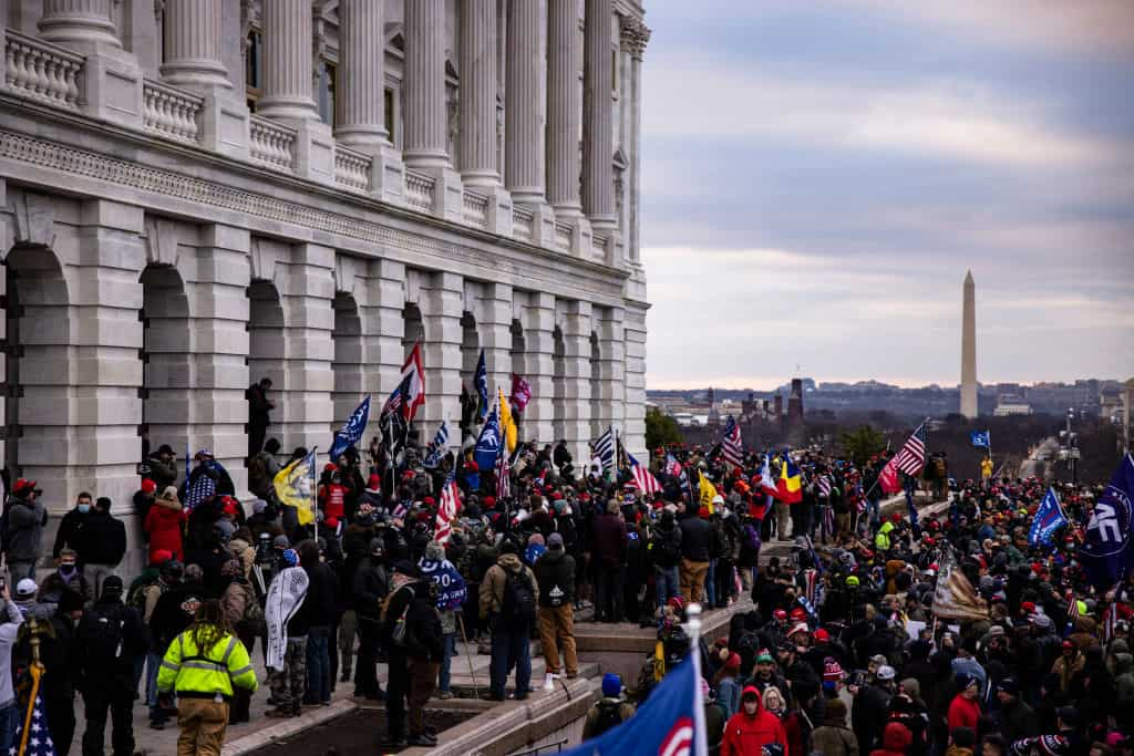 150 Rioters To Be Charged By Justice For Capitol Riot
