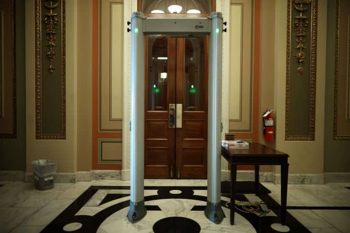 GOP House Members Angry Over Having To Pass Through Metal Detectors