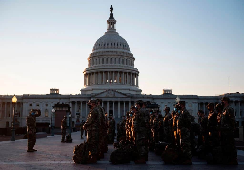 Pentagon Authorizes 25000 National Guard Members For Inauguration
