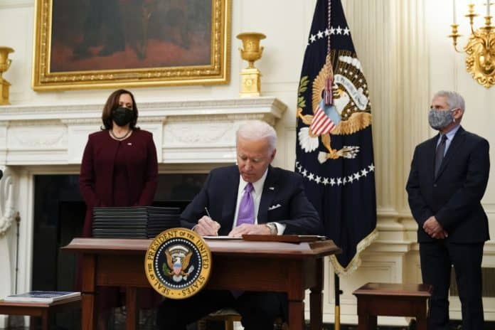 Two-Executive-Orders-And-One-Memorandum-Signed-By-Biden