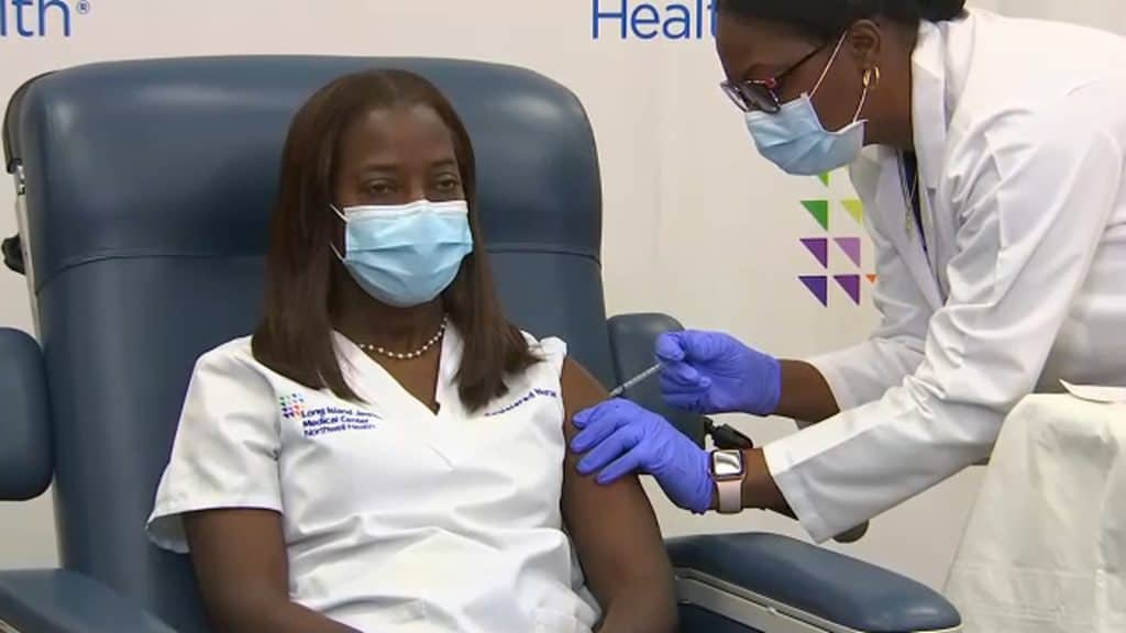 Many Health Workers To Get The Final Dose Of Vaccination