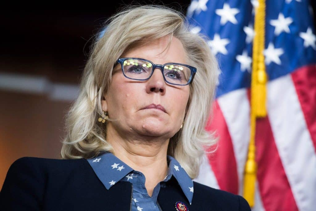 Rep Liz Cheney Seeks Support Of GOP House
