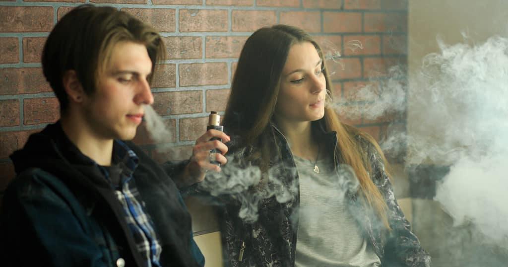 Youth Smoking Rates Declined Yet E-cigs Are Used By Teens