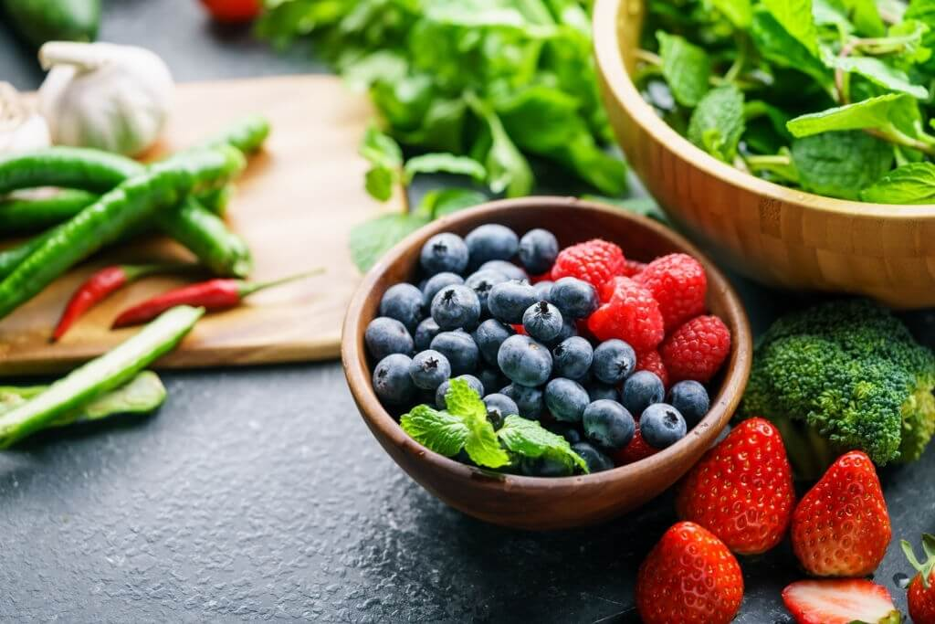 Fruits And Vegetables That Are Colorful May Reduce The Risk Of Cognitive Decline